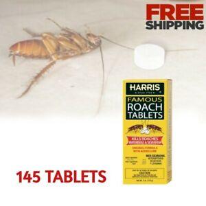 Roach Killer Tablets Cockroach Killing Poison Home Kitchen Bathroom Garage Ants
