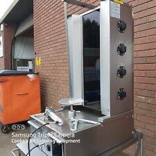 More details for easycut ds149 415v 4 burner doner kebab machine with electric knive, never used