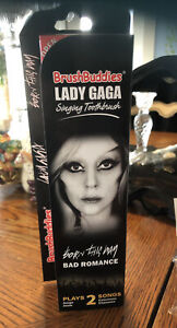 Lady Gaga Singing Toothbrush Born This Way Bad Romance Brushbuddies