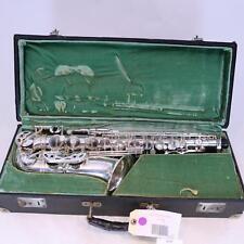 Selmer Paris Super Balanced Action Alto Saxophone SN 37697 ORIGINAL SILVER