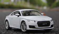 Welly 1:24 2014 Audi TT White Diecast Model Racing Car New in Box