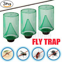 3X The Ranch Fly Trap Reusable Outdoor Fly Pest Killer Bug Cage Net For Horses