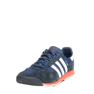 RRP€160 ADIDAS Sneakers EU 43 1/3 UK 9 US 9.5 Suede Trim Textured Tongue Low Top