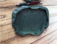 Reptile Turtle Water Feeder Dish Lizard Fake Rock Feeding Waterer Pet Food Bowl