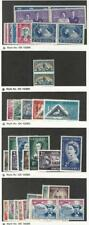 South Africa, Postage Stamp, #100//216 Mint Hinged, 1945-55