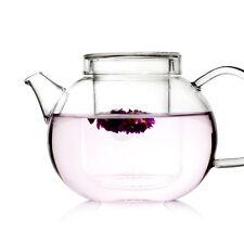 UNIHOM - GRACE 600ml Glass Infuser Teapot Set with Strainer (LooseTea)