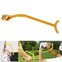 Golf Swing Trainer Practice Guide Beginner Gesture Alignment Training Aid Tool