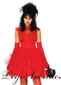 Ladies Leg Avenue Red Beetle Bride Costume