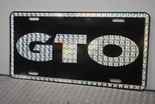 RETRO 1970'S PRISM GTO METAL LICENSE PLATE PONTIAC 70'S STREET FREAK 389 400 455
