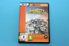 PC Computer Spiel - SIM CITY: SOCIETIES DELUXE EDITION - in Hülle OVP