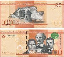 Dominikanische Repiblik / Dominican Republic - 100 Pesos 2014 UNC - Pick New