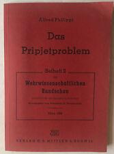 Philippi, Alfred: Das Pripjetproblem - mit allen Karten als Anlage - März 1956