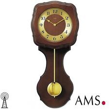 Ams 41 Wall Clock Rc Pendulum, Radio Controlled Westminster Living Room 590