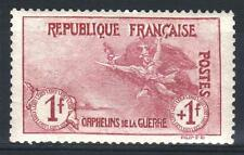 "FRANCE STAMP TIMBRE 154 "" ORPHELINS 1F+1F MARSEILLAISE "" NEUF xx TB A VOIR  P443"