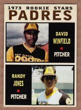 Dave Winfield & Randy Jones '73 San Diego Padres rookie stars Pastime series