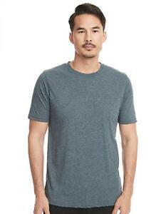 Herren Shirt, Poly/Cotton Crew Tee   Next Level Apparel