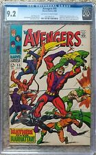 AVENGERS #55 CGC NM- 9.2 MARVEL 8/1968