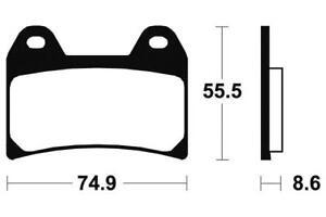 BENELLI 900 TORNADO 3 - Kit Plaquettes de frein AVANT - MF206 - 382061