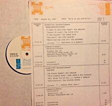RADIO SHOW: 8/21/87 #1's MID-60's: DIXIE CUPS, ROY ORBISON, MONKEES, 4 SEASONS,