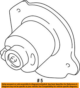 FORD OEM-Blower Motor XL2Z19805EA