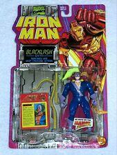 BLACKLASH Nunchaku & Whip Iron Man Action Figure Marvel Comics ToyBiz 1994 MOC