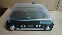 Digitnow Bluetooth Viny Record Player Turntable, Cassette,Radio and Aux in
