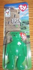 Erin The Bear-1997 McDonald's Ty Beanie Baby With Rare Tag Errors - MIB
