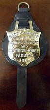 More details for antique horse brass, bishops stortford & dist. horse parade, 1913, merit badge