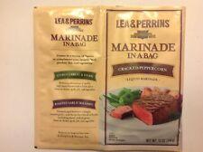 Lea & Perrins Marinade In A Bag Cracked Peppercorn