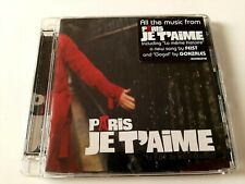 Paris Je T'Aime 1996 CD Soundtrack Brand New