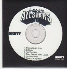 (BI864) Lo Fidelity Allstars, album sampler - DJ CD