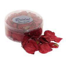 Petali di Rosa Seta Matrimonio Tavolo Confetti Rosso Bordeaux Rosso