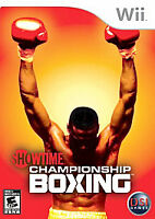 Showtime Championship Boxing (Nintendo Wii, 2007) Brand New Sealed