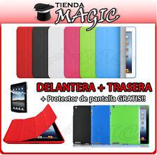 FUNDA SMART COVER compatible IPAD 4 - 3 - 2 + TRASERA TPU + PROTECTOR carcasa