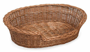 Willow Wicker Pet Basket Various Sizes Available