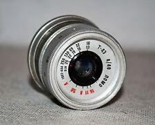 HAND MADE M39 mount USSR LOMO T-43 f4/40 from SMENA-8m + M39-M42 ring (ITEM №17)