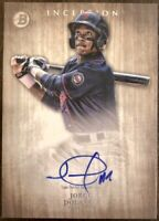 2014 Bowman Inception JORGE POLANCO Autograph Rookie #PA-JPO Minnesota Twins RC