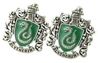 HP Slytherin Fashion Novelty Cuff Links Movie Film Series with Gift Box
