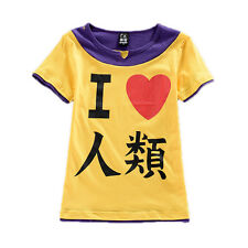 Anime No Game No Life Cotton T Shirt Short Sleeve Tshirt Casual Clothes Tops Tee