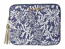 NWT LILLY PULITZER TECH CLUTCH BRIGHT NAVY IN THE GROOVE PURSE/CLUTCH/TABLET