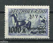 Ruhrhilfe 1923* kopfst. Unterdruck Michel 260 K II  Befund! (S2052)