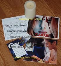 Carrie Movie Prop Prom School Plans Ticket Ballot Candle Chloe Grace Moretz Lot