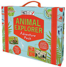 New Animal Explorer Adventure Pack by Parragon Books Free Shipping