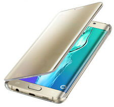 Samsung Galaxy S7 Edge Clear View Case Handyhülle Flip Schutz Cover FARBWAHL v89