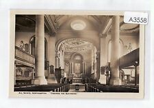 A3558cgt UK All Saints' Church Northampton 'Towards the Sun Rising' vin postcard