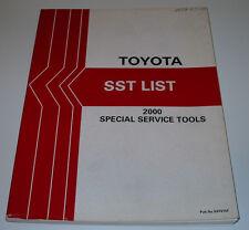 Werkstatthandbuch Toyota Yaris Echo Rav4 Lexus MR2 Special Service Tools 2000!