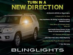 Add-On LED Side View Mirror Turnsignal Lights for Toyota 4Runner
