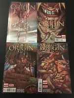 Origin II 1-4 Set Lot Run Collection Wolverine X-men High Grade PVC
