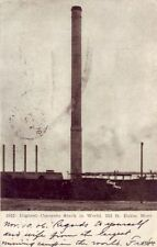 Pre-1907 Highest Concrete Stack In World 353 Ft. Butte, Mt 1906