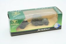 Solido 6048 Les Militaires Jeep With Trailer US Army Scale 1:43